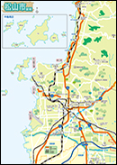 松山 市 内 地図 無料パンフレット・map|お役立ち情報|公益財団法人 松山観光